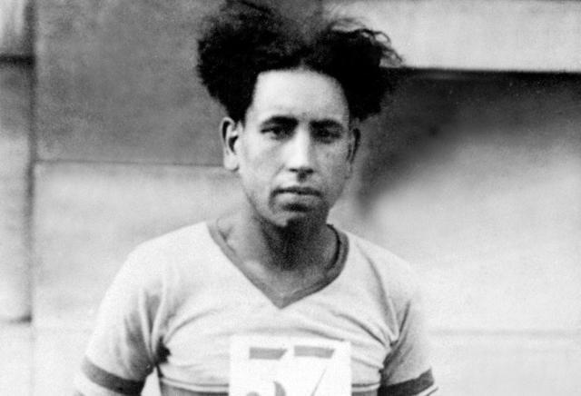 Boughera El Ouafi, champion olympique algérien ayant remporté le marathon d'Amsterdam des JO-1928, sous les couleurs françaises - Boughera El Ouafi, champion olympique algérien ayant remporté le marathon d'Amsterdam des JO-1928, sous les couleurs françaises - INTERCONTINENTALE/AFP/Archives -
