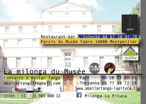 Musée FABRE : LE CARAVAGE/ tango argentin, video mercredi 27 juin (MdM).