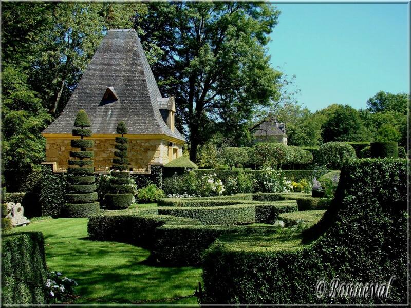Les Jardins du Manoir d'Eyrignac Dordogne Le Jardin Français