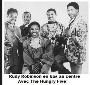 RUDY ROBINSON - DETROIT