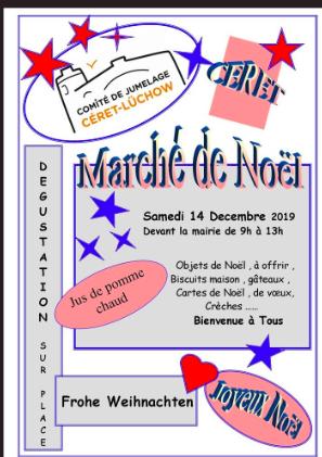 Marché de Noël du comité de jumelage Céret / Lüchow