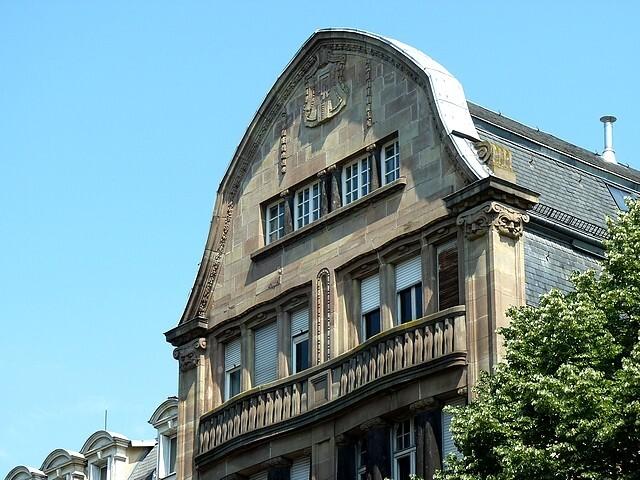 Les frontons de Metz 52 Marc de Metz 2012