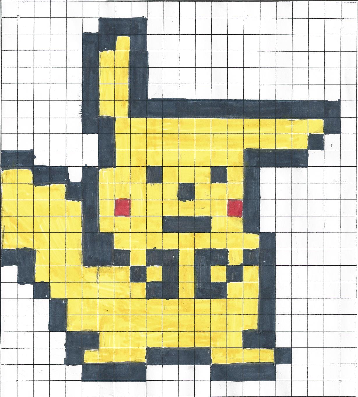 Pixel Art Ecole Pouchet Rouen 76