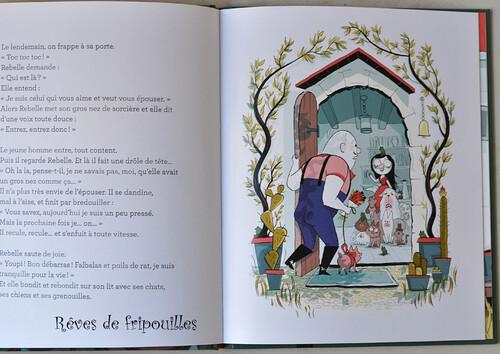 Rebelle au bois charmant, de Claire Clément et Karine Bernadou, éd Mes albums Milan