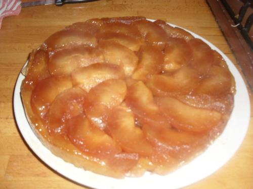 une tarte tatin pour les malins^^