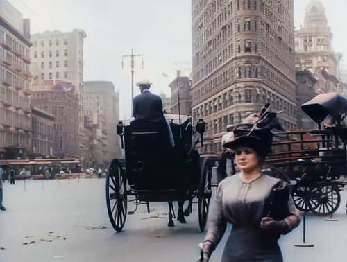 A TRIP THROUGH NEW YORK CITY IN 1911  (Documentaires exceptionnels)