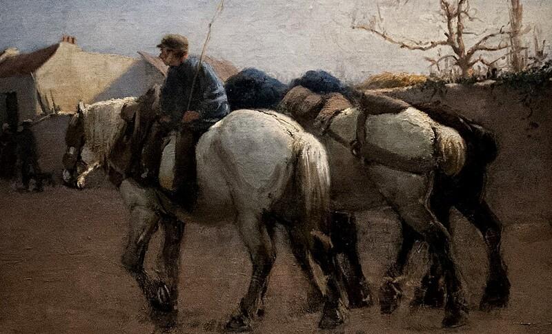 Kreuger 1 / les années 1880 ,en France , influencé par l'impressionnisme.