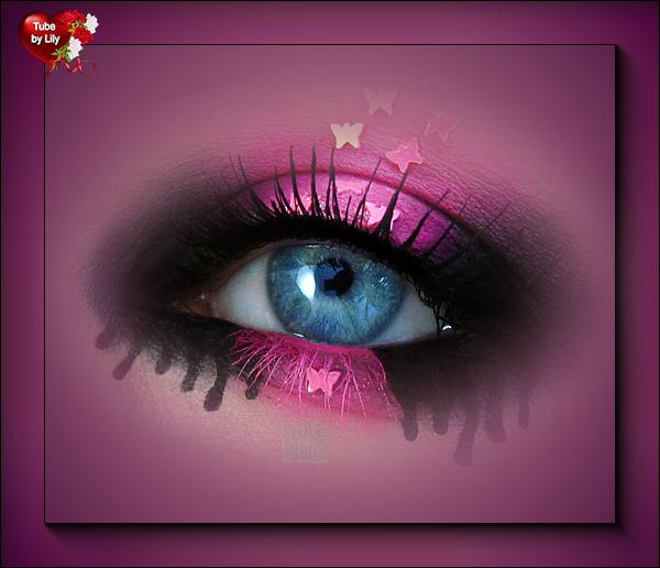 Mist butterfly eye
