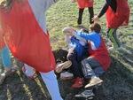 Terrain givré pour la séance de rugby