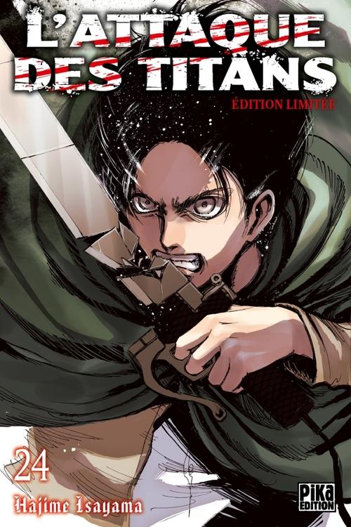 L'attaque des titans - Tome 24 - Hajime Isayama