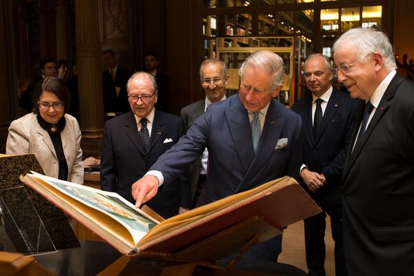 Charles à l'institut de France