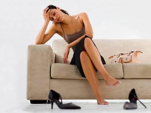 une femme atteinte du syndrome Guillain-Barré