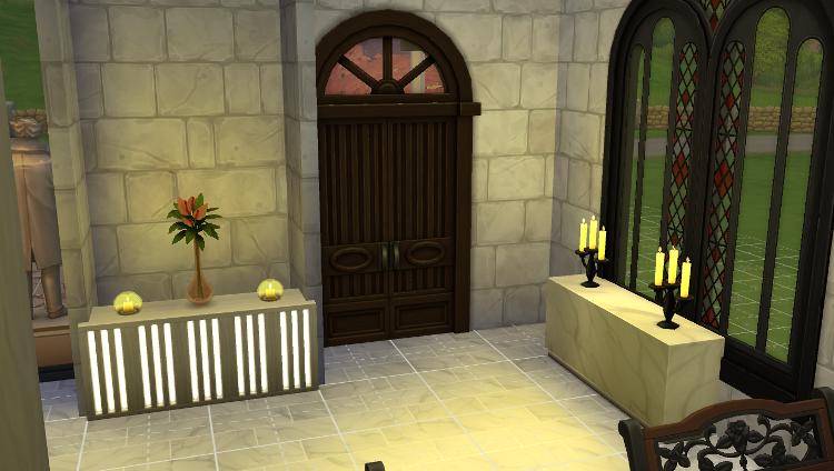 Sims 4 : La chapelle de mariage du Lama volant