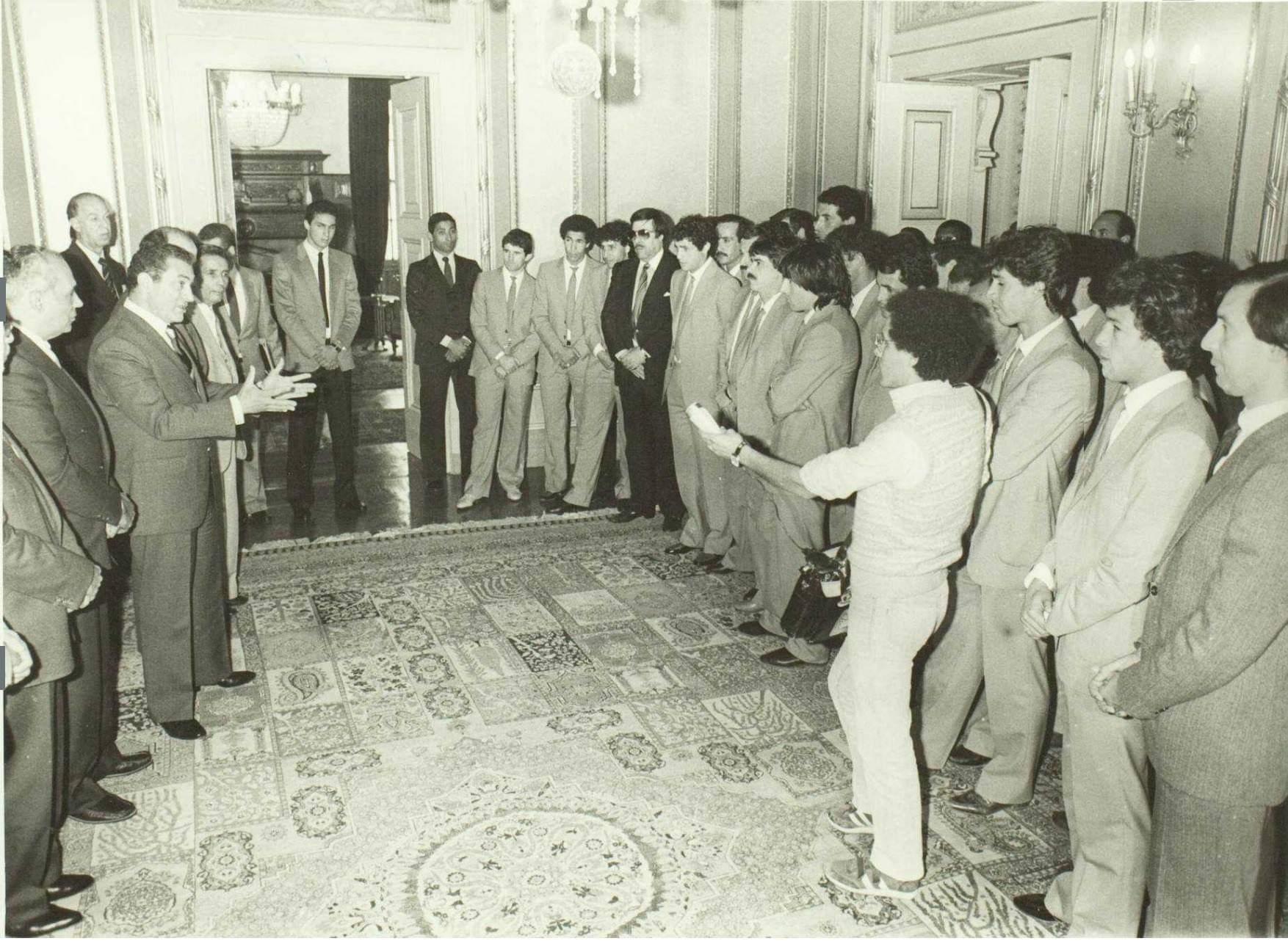BENCHEIKH Ali 1984 en Égypte