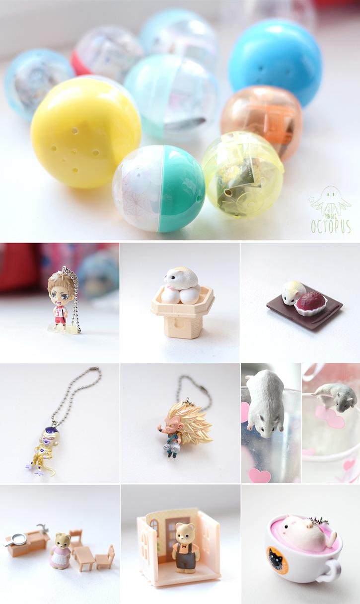 ♥ Une pluie de cadeaux Kawaii : Gashapon & Objets Mignons (Chezfée.com) ♥
