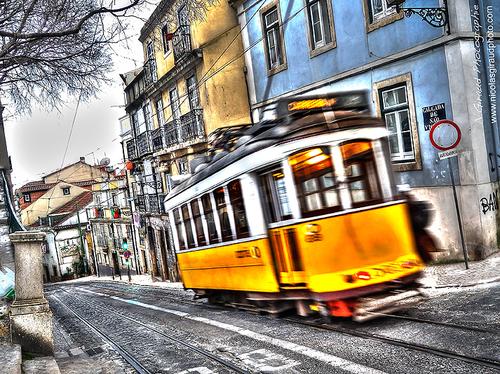 Lisboà Part II: Le charme des tramways lisboètes