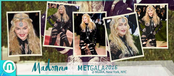 Madonna MET Gala 2016 New York
