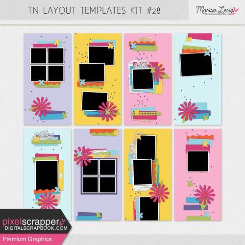 Layout Templates kit#75 - TN kit#28