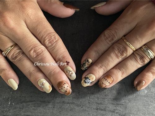 Nail Art d'automne