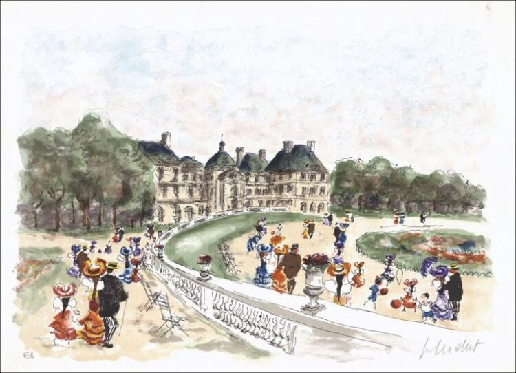 Urbain Huchet. Le Jardin du Luxembourg