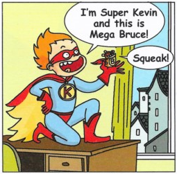 Super Heroes (Comic strip)