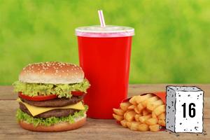 Des sucres dans les menus fast-food