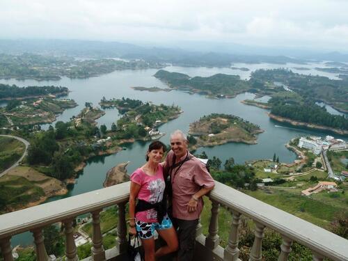 Des hauteurs de Medellin à Guatapé