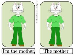 Flashcards the mother