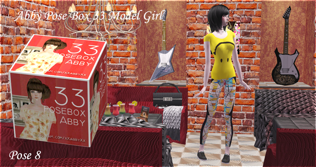 Abby => Pose Box 33 Model Girl