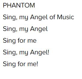 The phantom of the opera thème