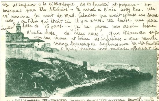 BASTIA - a citadella in 1938
