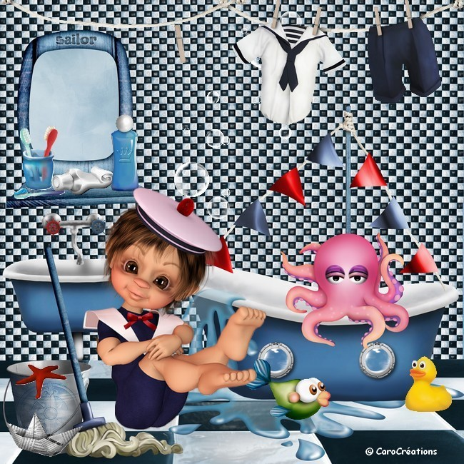 bathroom sailor