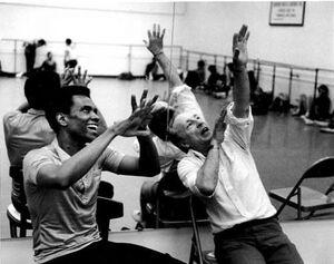 dance ballet class arthur mitchell choreographer