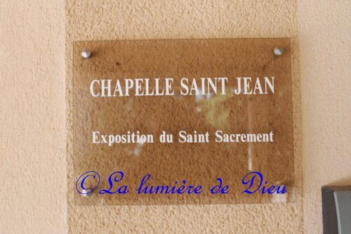 Paray le Monial : La chapelle Saint Jean