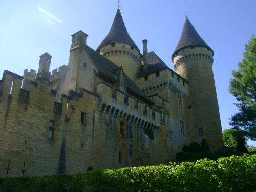 -Le chateau de la Dame Blanche-