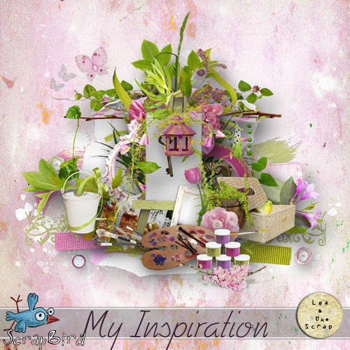 My Inspiration by LéaUgoScrap