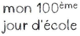 100 jours d'école