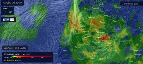 Pollution et météo