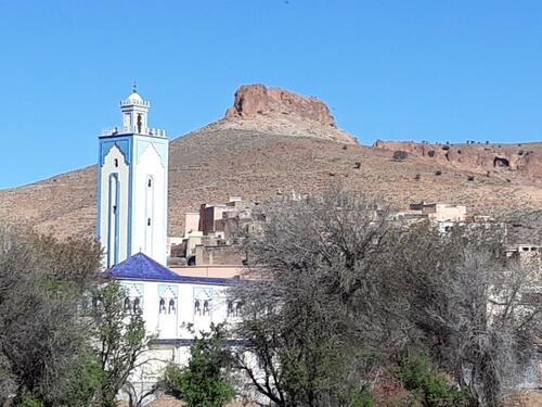 Voilà sa mosquée