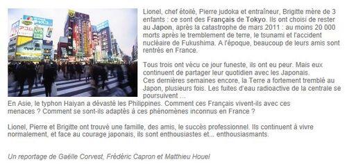 Français de Tokyo sur France 2