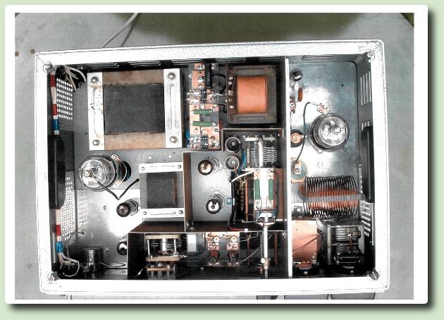 """Emetteur AM 807 modulée par une 807 """"Reference- shift"""""""