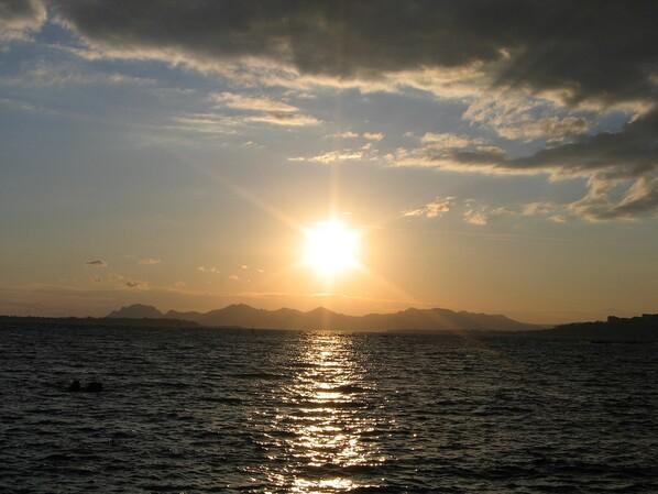 Coucher de soleil Antibes