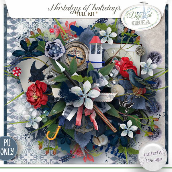 Nostalgy of Holidays [Page Kit] by butterflyDsign