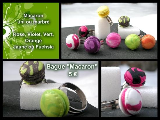 Bague Macaron