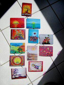 Cartes puzzles...