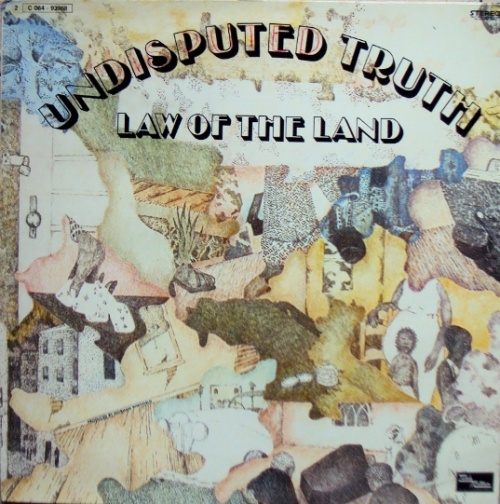 """1973 : Album """" Law Of The Land """" Gordy Records G 963 L [ US ]"""