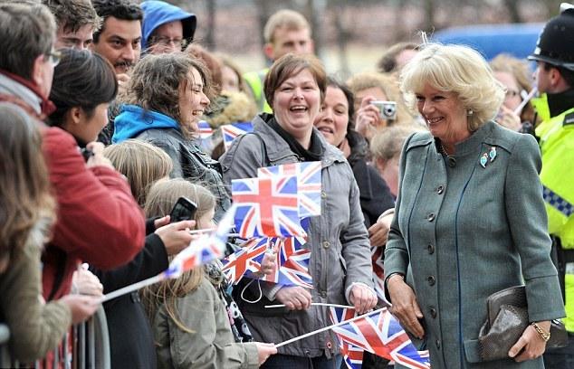 Camilla chez les Beatles