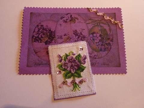 Photos de l'échange des violettes