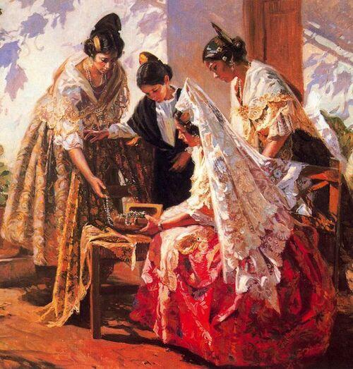 Peintre JUAN GONZALEZ ALACREU