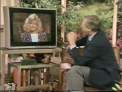 Donna Mills dans Good Morning America.